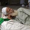 Спящий ближневосточный старик