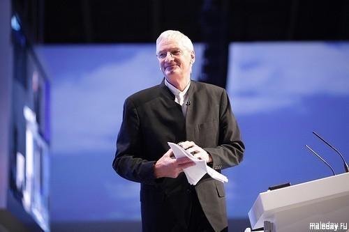 Сэр Джеймс Дайсон на конференции Консервативной партии Великобритании