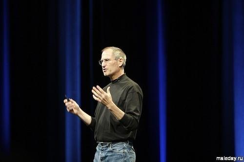 Стив Джобс выступает на WWDC в 2007-м
