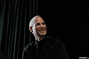 Стив Джобс на презентации Айпада в 2010-м
