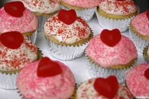 Бисквиты на День святого Валентина