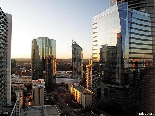 Небоскрёбы в Атланте