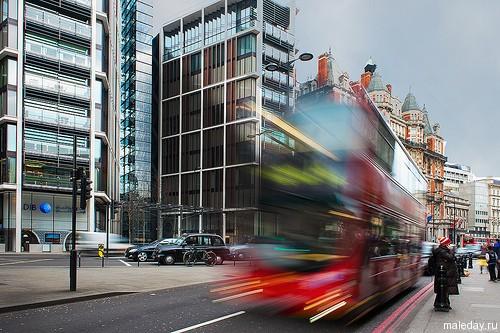 Улица Найтсбридж в Лондоне