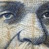 Лицо с банкноты крупным планом